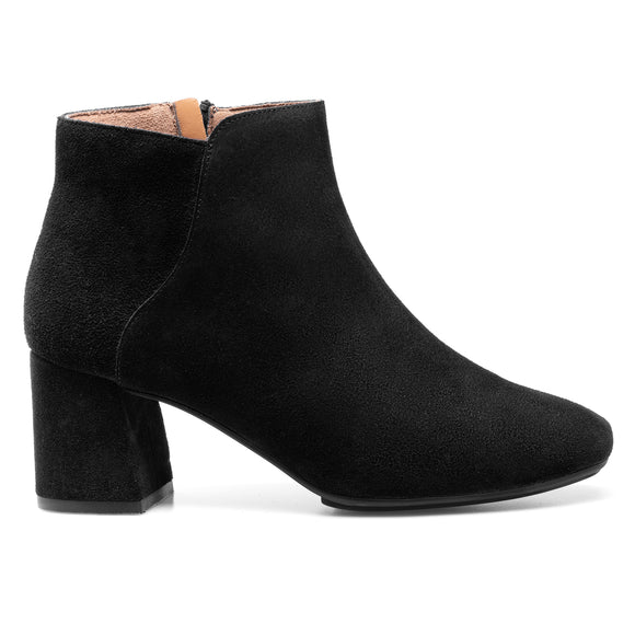 DAY - Bottines Casual en cuir NOIR