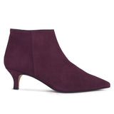 OUTFIT - bottines kitten heel bordeaux