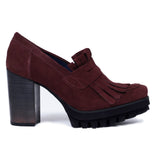 Mocassins miMaO Trend Bordeaux