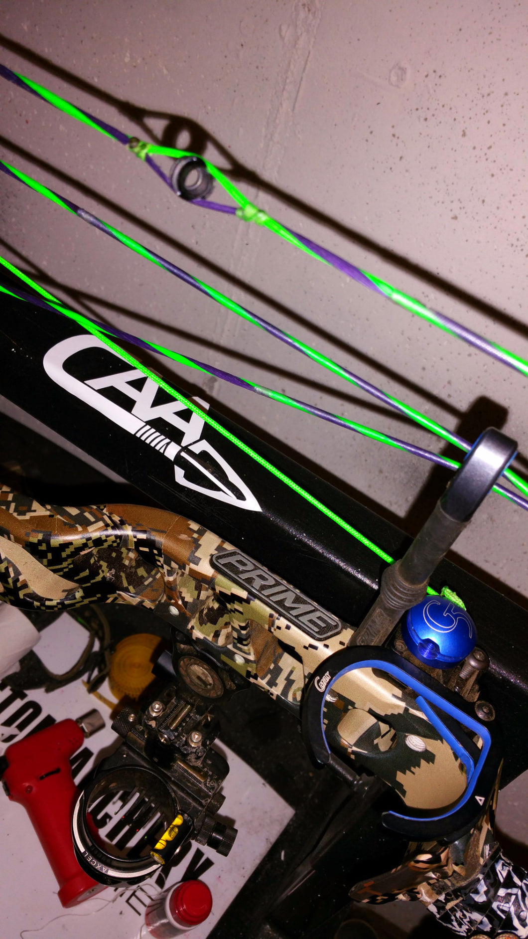 Launch Control Bow Strings – Custom Archery Accessories