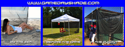 see through tent shade,beach, tailgating, baseball