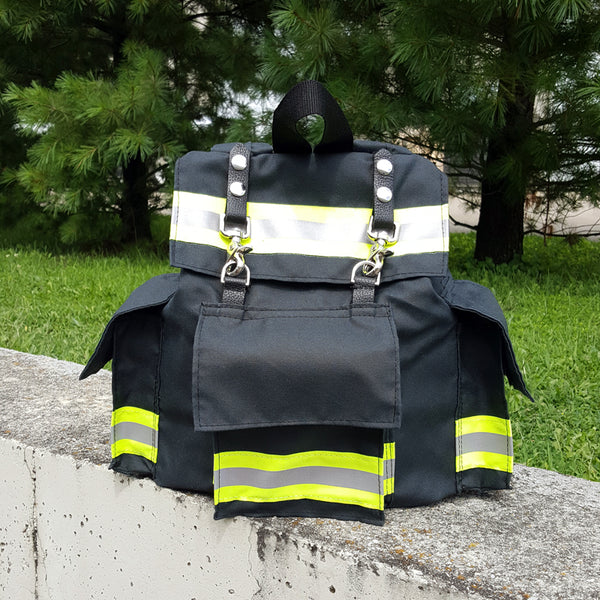 Junior Bunker Gear Backpack in Black