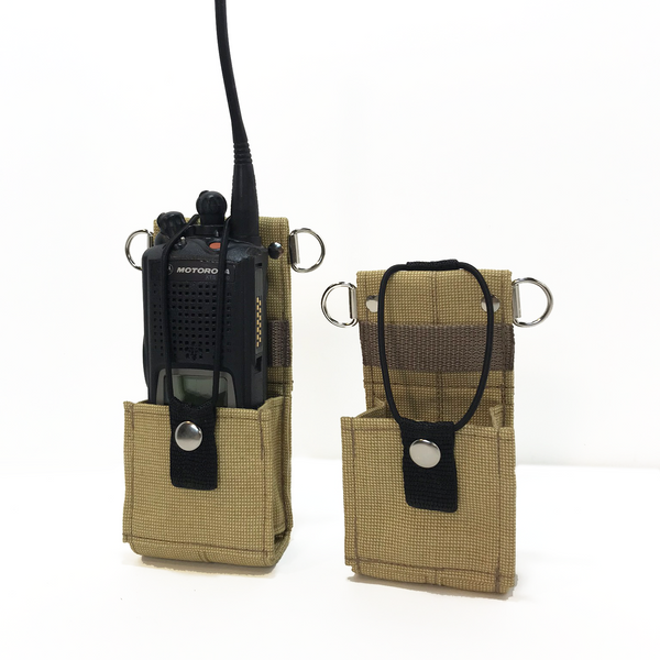 Bunker Gear Radio Cases in Tan