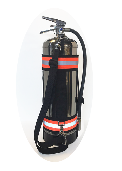 Fire Extinguisher Carry Strap Right Side
