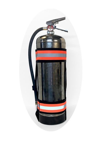 Fire Extinguisher Carry Strap Left Side
