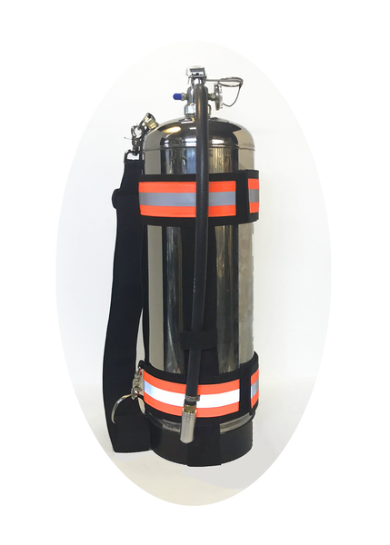 Fire Extinguisher Carry Strap Front View