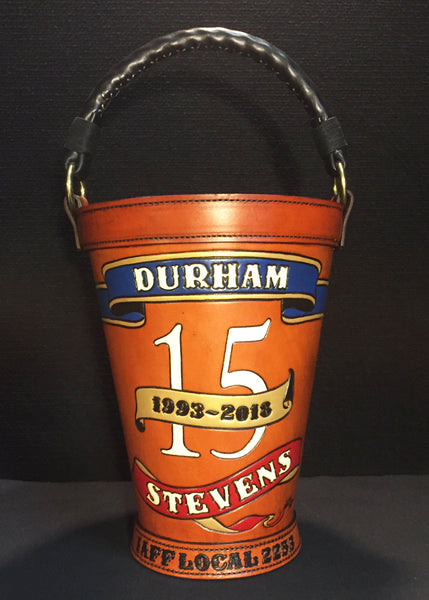 Legacy Leather Fire Buckets