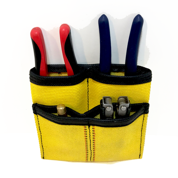 Fire hose tool pouch with tools