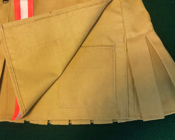 Mini Kilt Tan with Orange Hidden Pocket