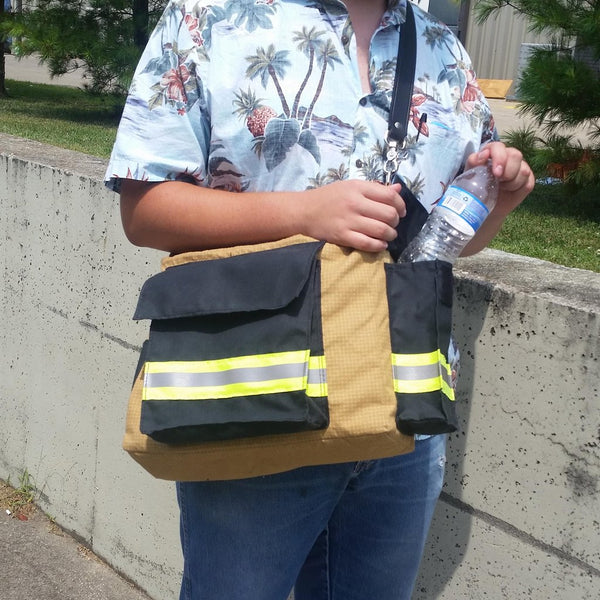 Bunker Gear Messenger Bag