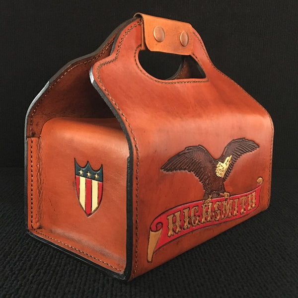 Cartridge box with eagle