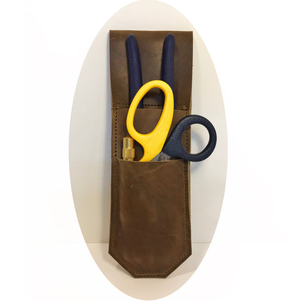 leather pliers case with 3 tools