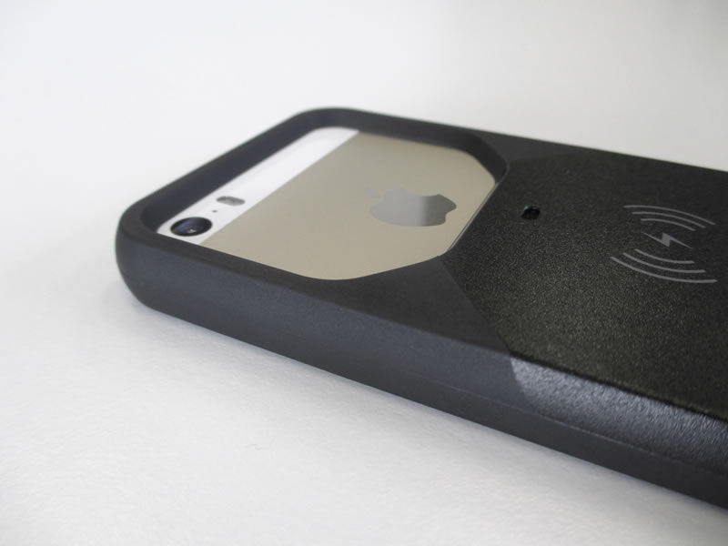 Coque induction Aircharge pour iPhone 5 / 5S (Noir) - MFI