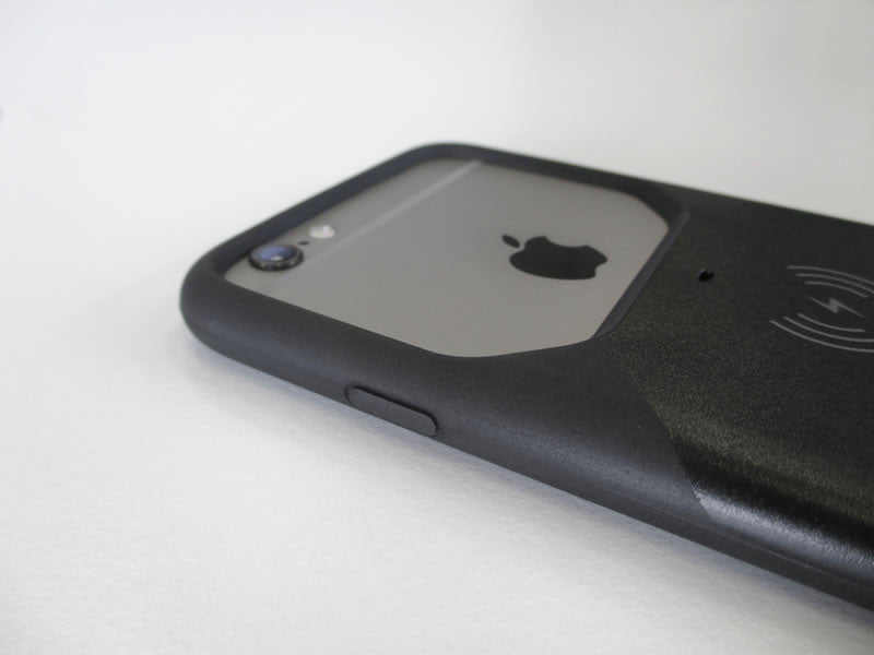 Coque induction Aircharge pour iPhone 6 6S (Noir) - MFi