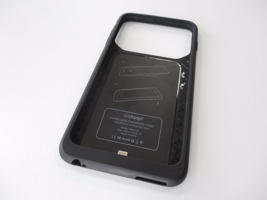 Coque induction Aircharge pour iPhone 6 Plus / 6S Plus (Noir) - MFi