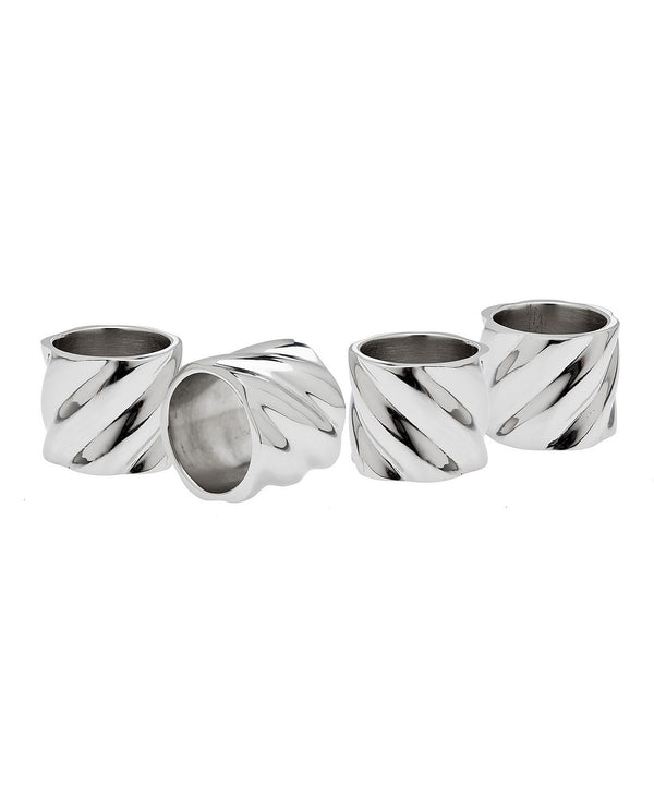Hillcrest Napkin Rings, Set of 4