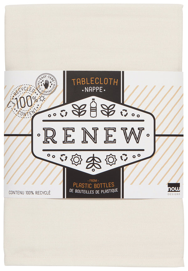 Ivory Renew Tablecloth ASST
