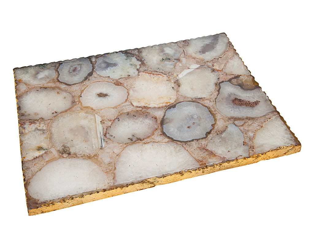 Natural Quartz Challah Board- AVAILABLE TO ORDER