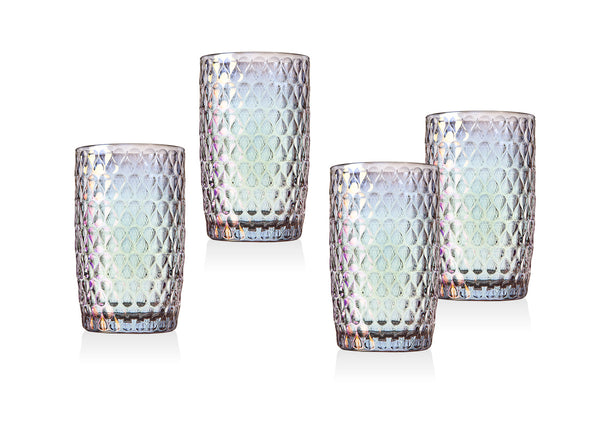 HALO SET OF FOUR HIGHBALLS 13o