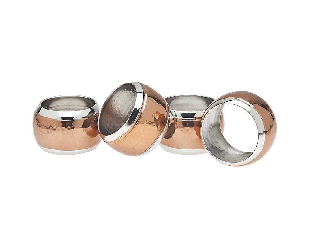 Copper Napkin Ring Hammered Set of 4.jpg