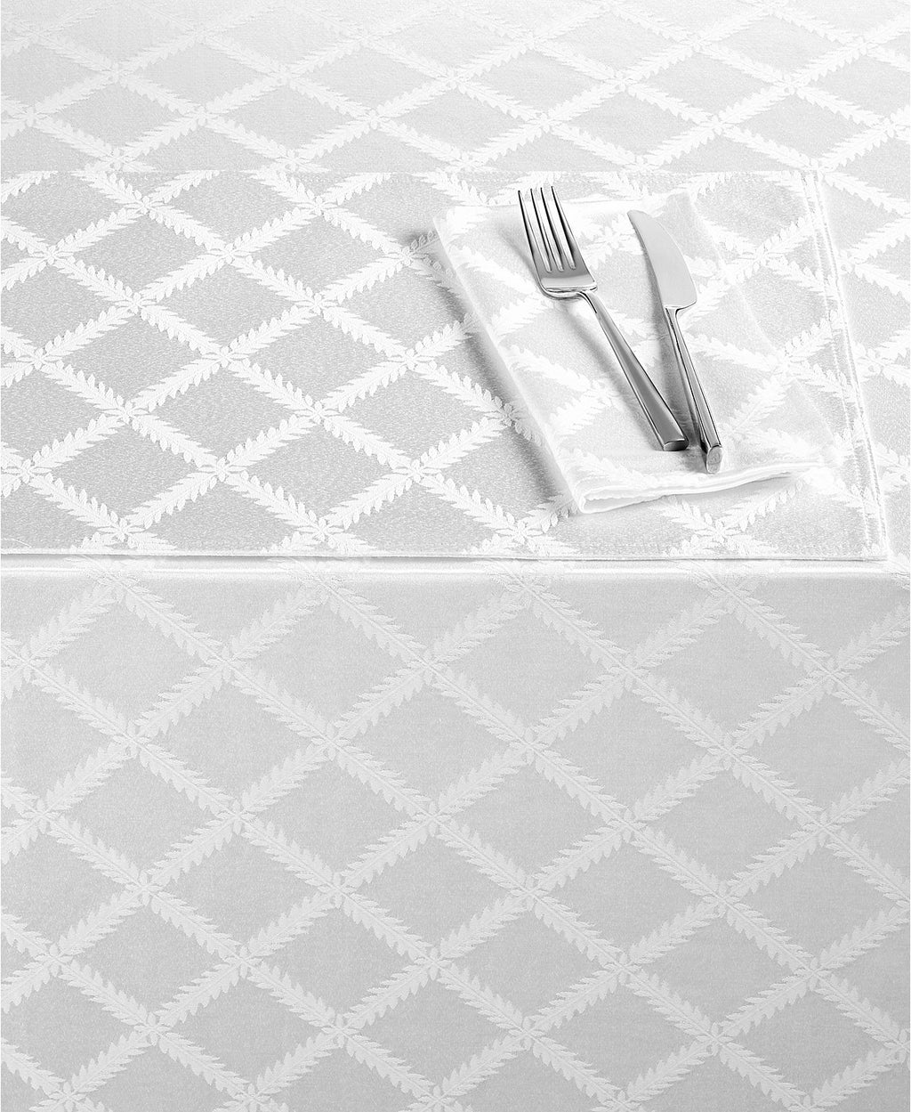 Lenox - Laurel Leaf Tablecloth <strong>Multiple Colors</strong>