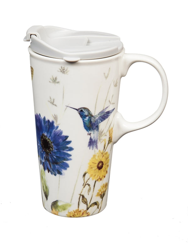 "Ceramic Travel Cup <ul class=""description-item-list""> <li class=""description-item""><strong>Assorted Designs</strong></li> </ul>"