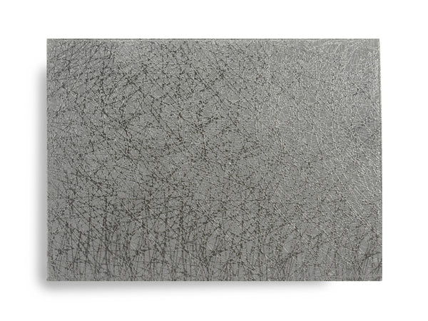 Abstract Ultimate Easy Care Placemat - Grey