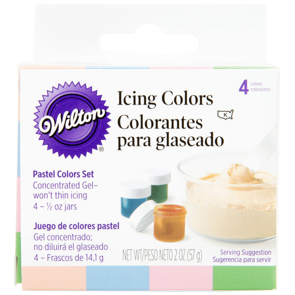ICING COLORS PASTEL 4 SET