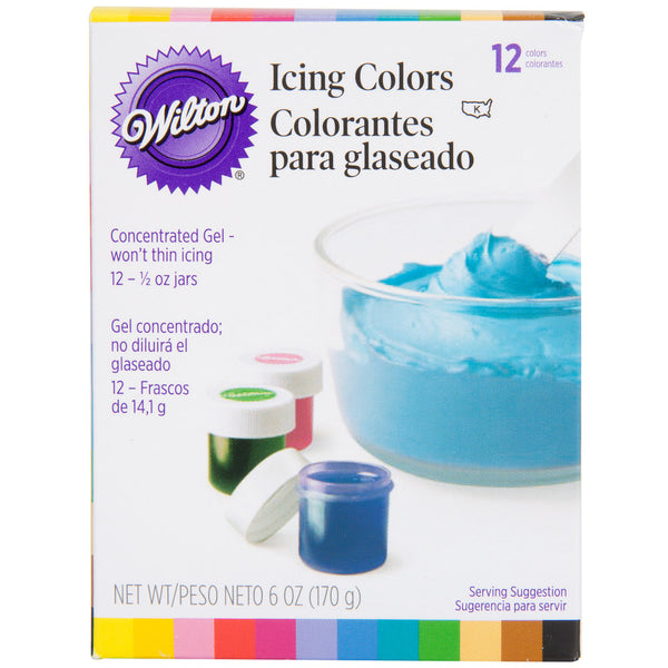 ICING COLORS 12 COLOR SET