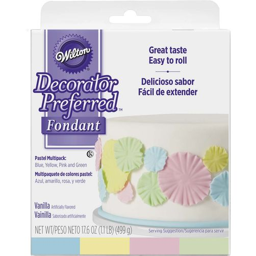Pastel Colors Fondant Multipack