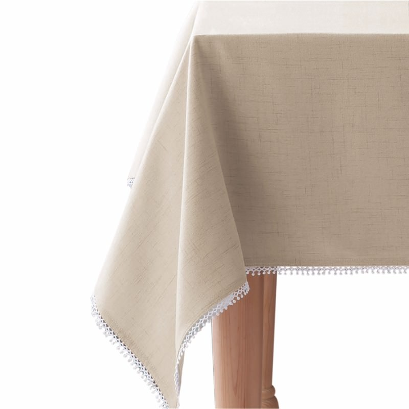 Lenox - French Perle Solid Tablecloth <strong>Multiple Colors</strong>