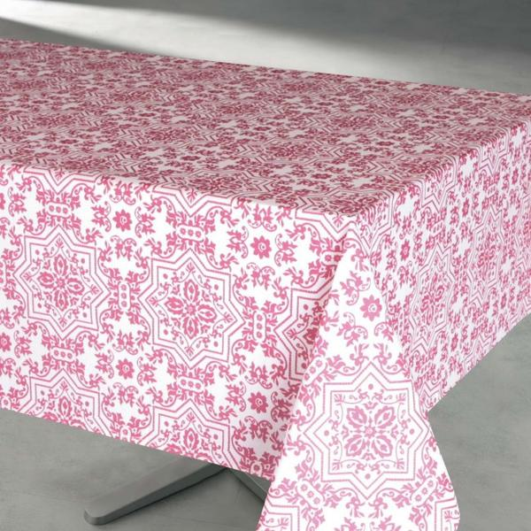 Souk Tablecloth  - Water Resistant- Wipe Down <strong>ASSORTED COLORS</strong>