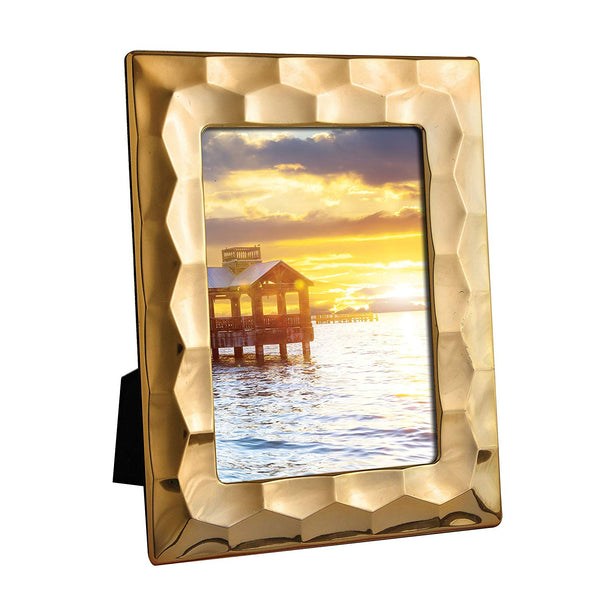 Gold Prism Picture Frame