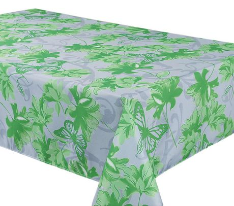 Brize Green Tablecloth  - Water Resistant- Wipe Down