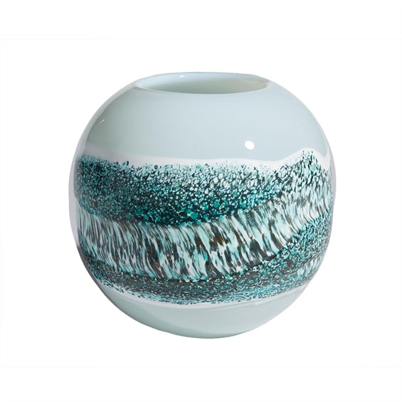 Tozai Small Layered Stripe Vase