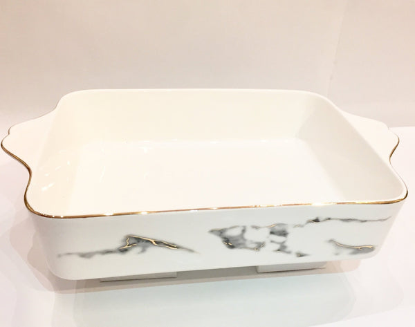 Rectangle Casserole Baker - Marble