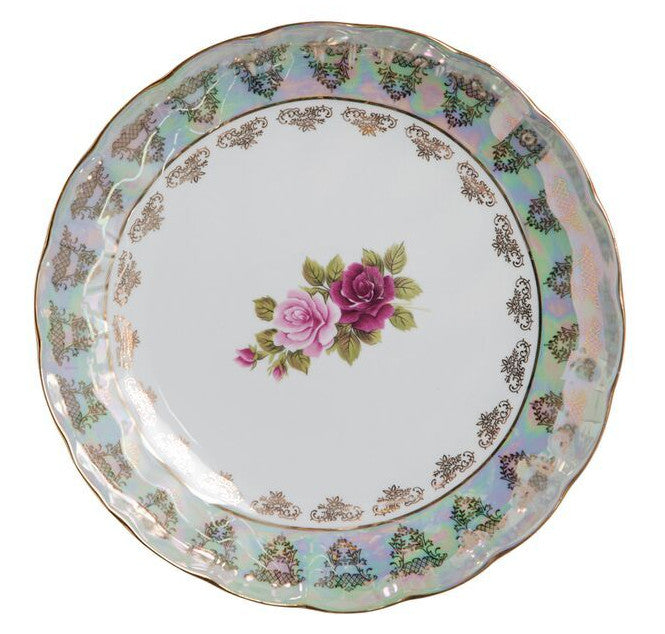 Gold Old Country Rose -Round Platter