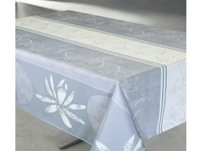 Tablecloth Lotus Beige- Water Resistant- Wipe Down