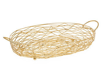 Nest Oval Baker - Gold