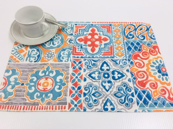 Placemats - Water Resistant- Wipe Down <strong>ASSORTED COLORS</strong>