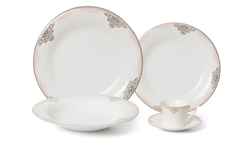 Regency 20pc - Bone China Dinner Set