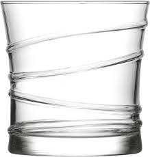 RING Whiskey Glass, Pack of 6