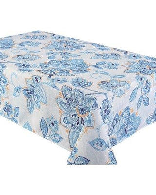 Fiore Tablecloth  - Water Resistant- Wipe Down <strong>ASSORTED COLORS</strong>