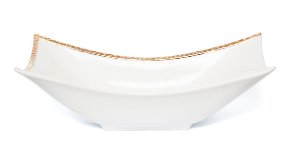 Oblong Deep Bowl G Relief