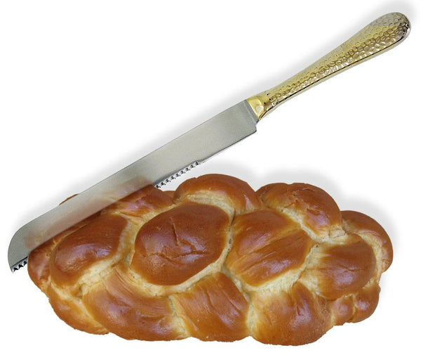 Hammered Challah Knife