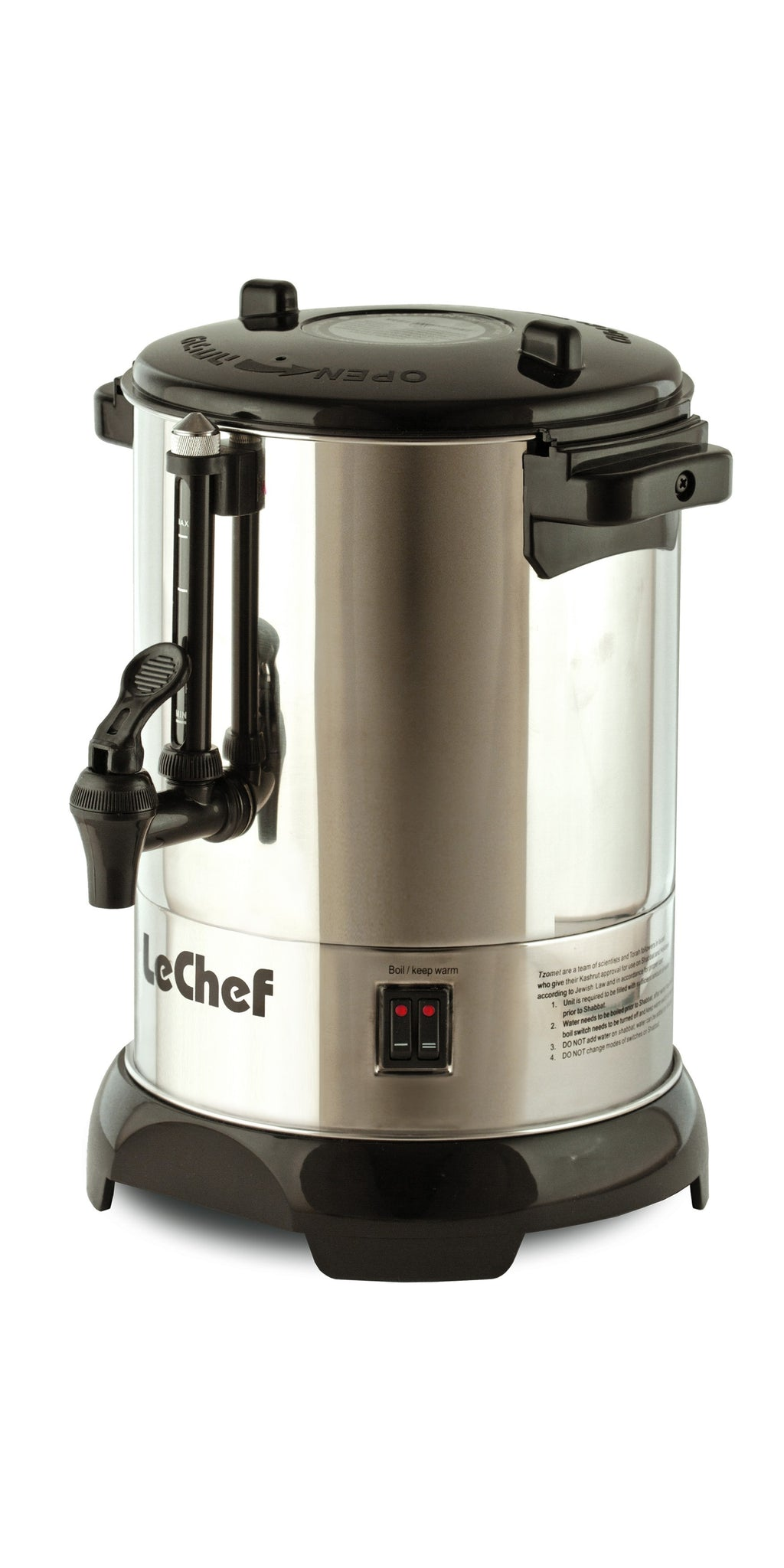 LeChef 30 Cup Hot Water Urn LUR-30S