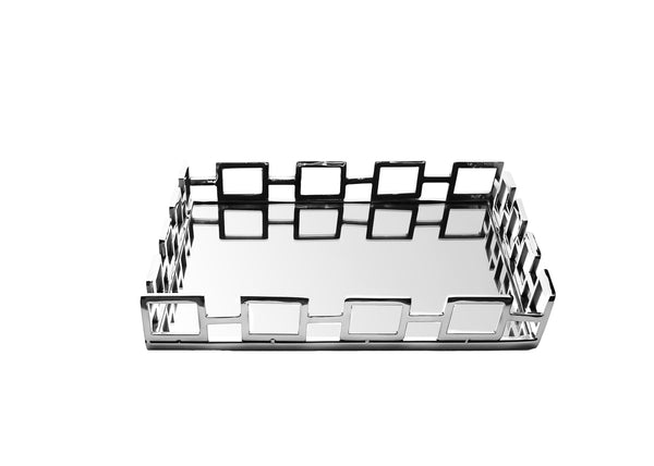 Square Mirror Tray / Square Loop Design