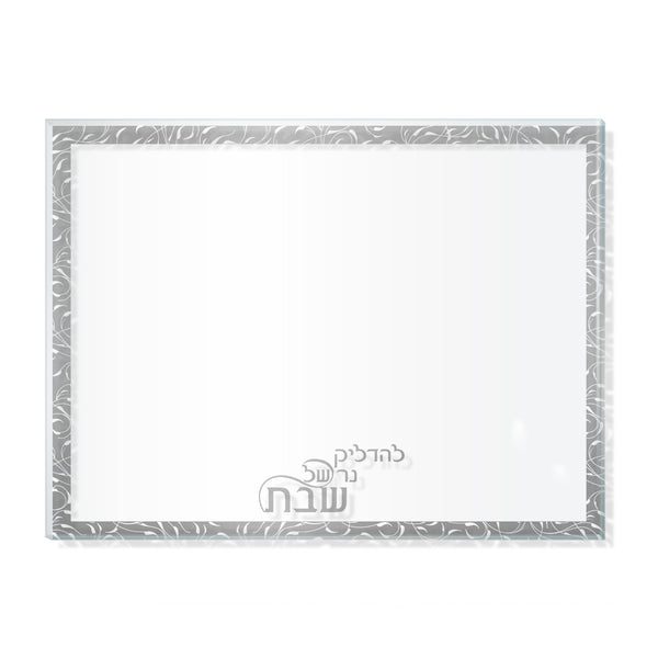 Botanical Clear Leichter Tray Silver