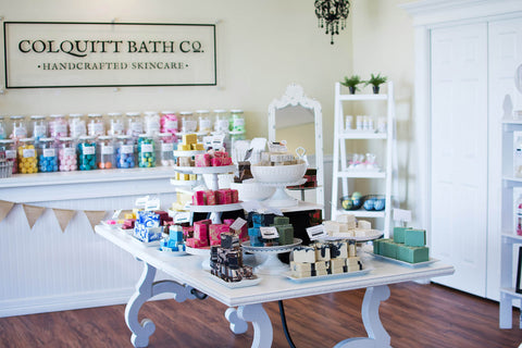 colquitt bath co skincare products