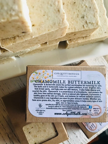 Chamomile Buttermilk Soap 6.0 oz